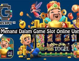 Taktik Menang Dalam Game Slot Online Uang Asli
