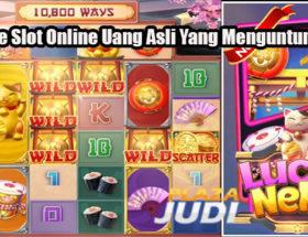 3 Game Slot Online Uang Asli Yang Menguntungkan